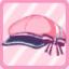 LE School Ribbon Cap pink