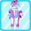 DG Elegant Pharmacist Costume purple