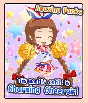 Charming Cheergirl banner