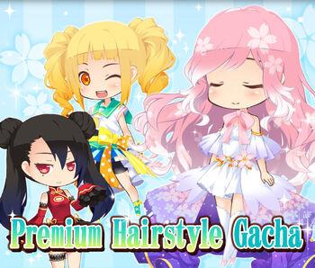 Premium Hairstyle Gacha 3 big banner