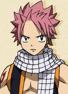 Natsu Dragneel Pre Timeskip Anime Portrait