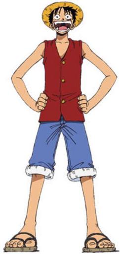 Luffy Anime Pre Timeskip Infobox
