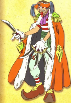 Buggy Anime Pre Timeskip Infobox