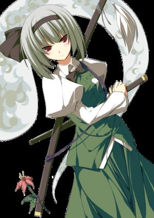 Miyuki blushing