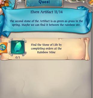Fairy Kingdom --Elven Magic 11 of 14 task