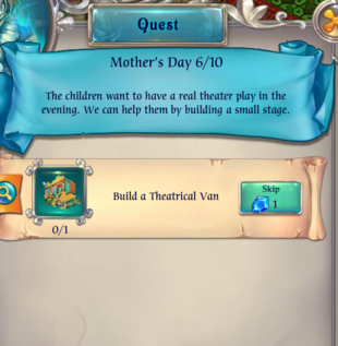 Fairy Kingdom --Mother's Day 6 of 10 task