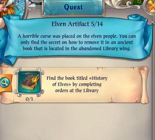 Fairy Kingdom --Elven Magic 5 of 14 task