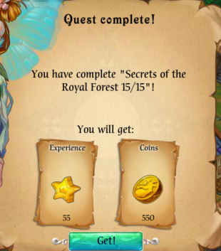 Fairy Kingdom -- Secrets of the Royal Forest 15 of 15 (reward)