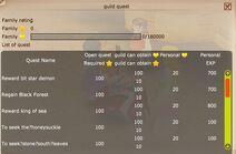 Guild quests