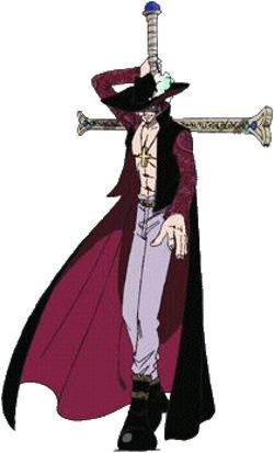 Mihawk Dracule Anime Full Body