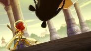 Erza defeats Minerva