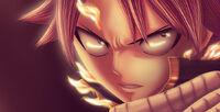 Natsu angry fanart