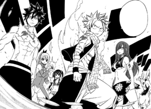 Fairy Tail stands against Ajeel