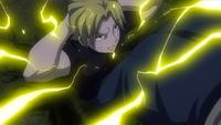 Yuri develops Lightning Magic