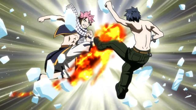 File:Natsu breaks Gray's Ice-Make Shield.PNG