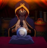 Éclair reading fortunes
