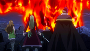 Laxus and the Tribe vs. Atlas Flame