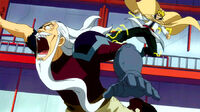 Laxus attacked Hades