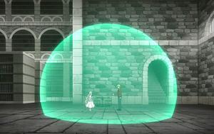 Yuri and Mavis in the Judgment Field