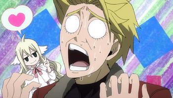 Yuri realizes he lost to Mavis