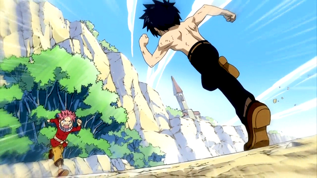 File:Natsu and Gray battle as kids.png