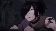 Rogue watches Zeref's arrival