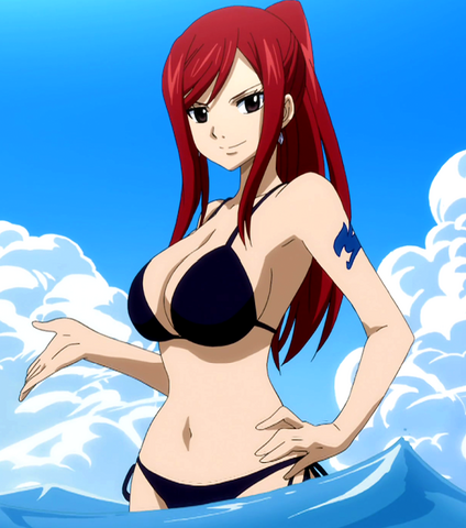 File:Erza in a black swimsuit.png