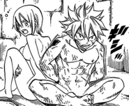 Natsu and Lisanna imprisoned
