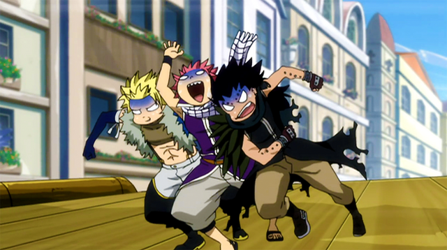 File:Natsu,Sting and Gajeel during the race.png