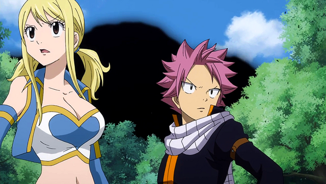 File:Natsu and Lucy feel an earthquake.png