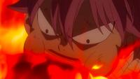 Natsu devours Atlas' flames