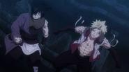 Sting and Rogue help Natsu