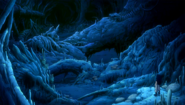Gajeel stumbles upon a great number of dragon skeletons