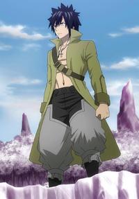 Gray's full body appearance