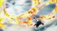Natsu defeats Laxus