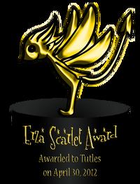 Erza Scarlet Award 1