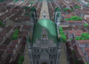Kardia Cathedral Top view