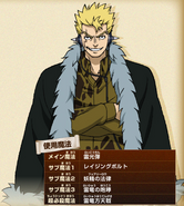 Laxus' render in GKD