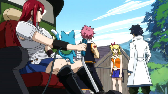 File:Lucy Tells Natsu, Erza, Gray and Happy about Lullaby.jpg