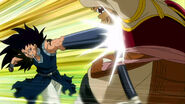 Gajeel attack Yomazu