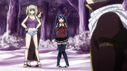 Natsu is found by the girls