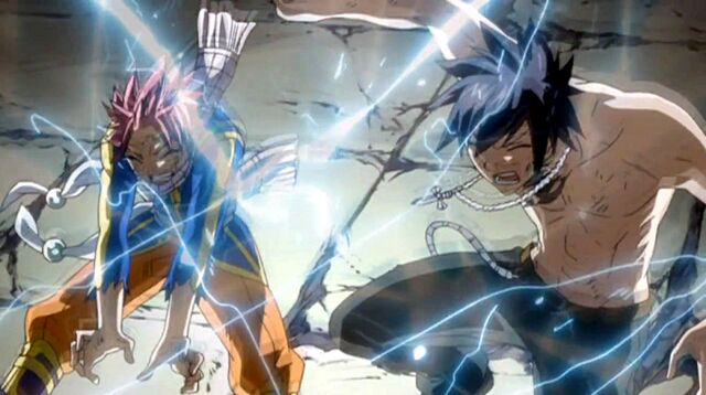 File:Natsu and Gray zapped by Klodoa.jpg