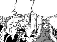 Laxus picks Natsu and Elfman