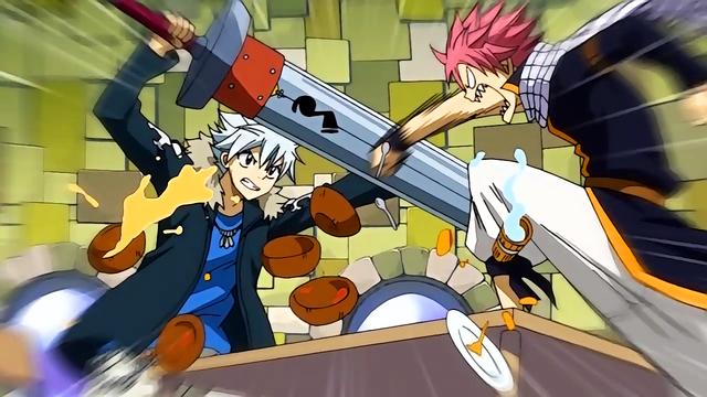 File:Natsu and Haru clash.png
