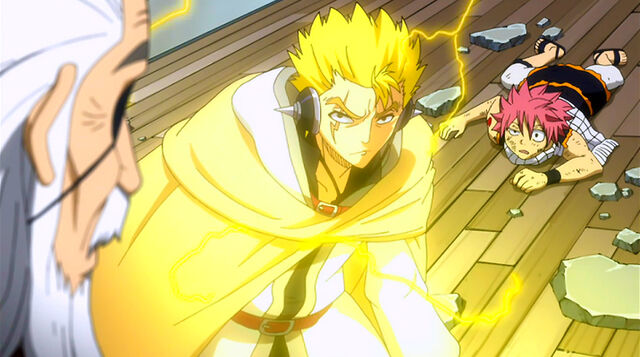File:Laxus saves Natsu from Hades attack.jpg