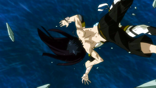 File:Gray and Ultear falling off a cliff.png