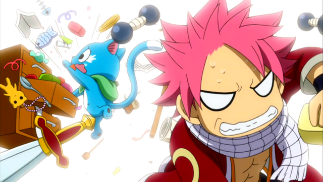 File:Natsu and Happy desperately look for something.PNG