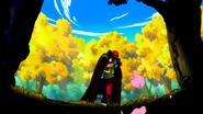 Gildarts and Cana hug