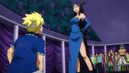 Minerva reveals her plan to Sting