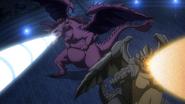 Scissor's and Rock Dragon's roar